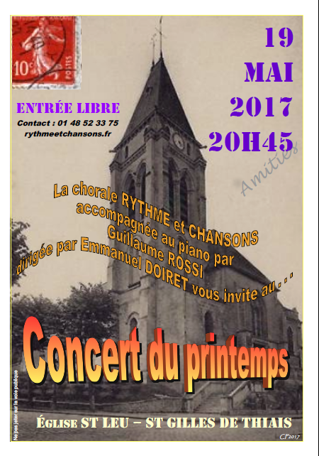 Concert Thiais 052017
