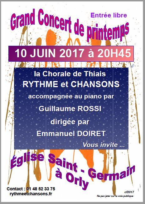 concert 10 juin 2017